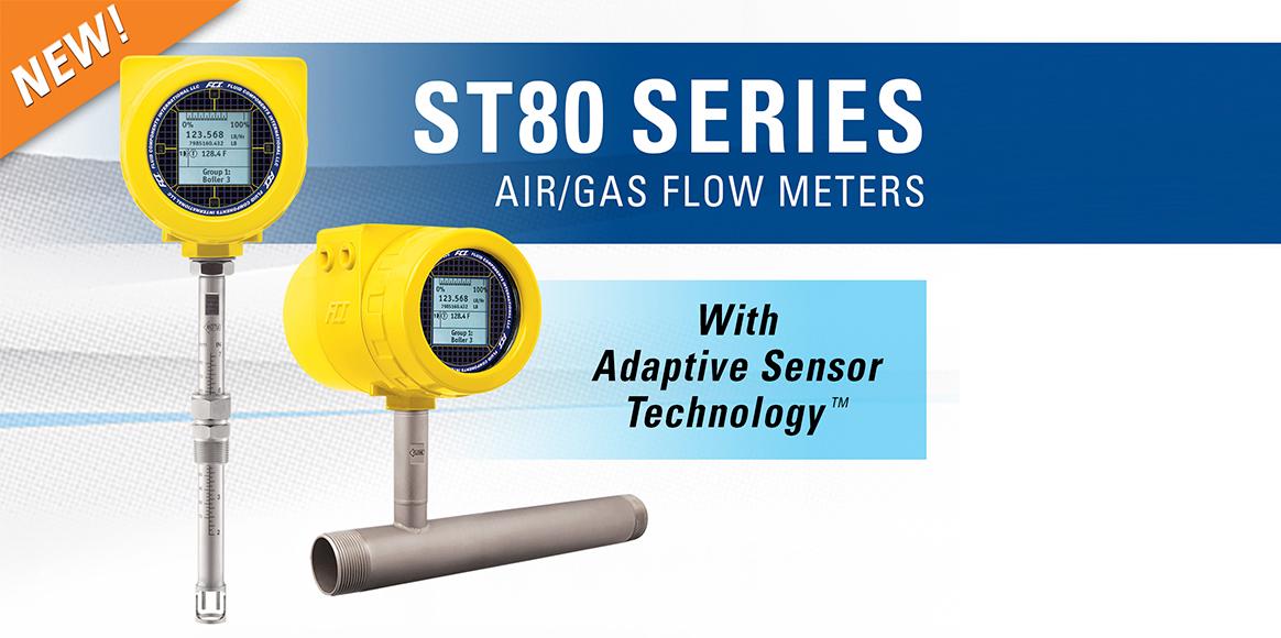 Il flussimetro di massa termico ST80
