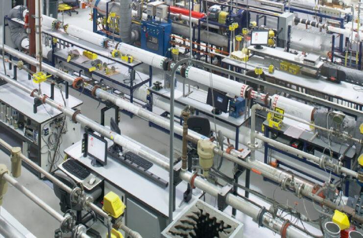 calibrazione di misuratori di portata massici termici